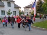 Den vítězství - kladení věnců u Pomníku padlých a Sokolovny 5. 5. 2011