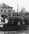 Bývalý mostek přes potok od Vrboušťáku asi v roce 1945