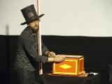 Kino skončilo promítací sezonu - přišel i kouzelník...