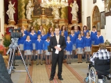 Koncert dětského sboru k 75. výročí založení školy v kostele sv.  Kateřiny