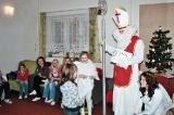 Mateřské centrum Meziříčský Rarášek - návštěva Mikuláše