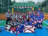 Multifunkční hřiště - hokejbal žáci ZŠ ČM vs. přípravka Rangers Opočno