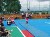 Multifunkční hřiště - vystoupení gymnastek z dětského oddílu Všestrannosti TJ SOKOL