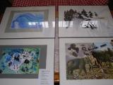 Vernisáž výstavy skleněných vitráží Josky Dyntara